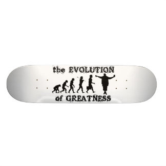 Evolución de la cubierta del monopatín de la grand tablas de skate