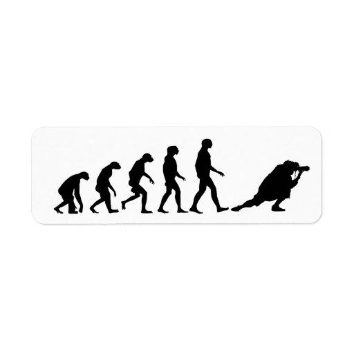 Evolución de la fotografía etiqueta de remite
