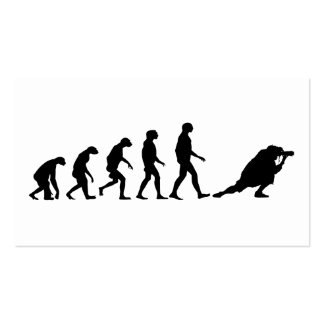 Evolución de la fotografía tarjetas de visita