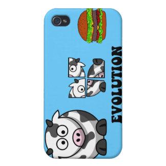evolución de la hamburguesa iPhone 4/4S carcasa