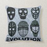Evolución de la máscara del portero del hockey cojines