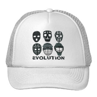 Evolución de la máscara del portero del hockey gorras de camionero