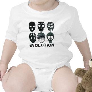 Evolución de la máscara del portero del hockey traje de bebé