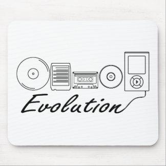 Evolución de la música mousepad
