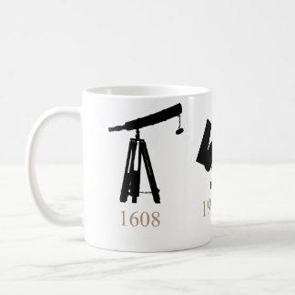 ¡Evolución de la taza de los telescopios!