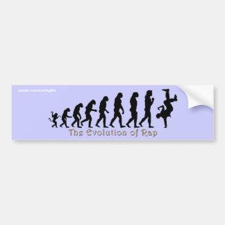 EVOLUCIÓN de las pegatinas para el parachoques del Pegatina Para Auto