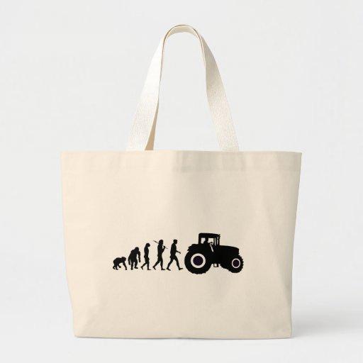 Evolución de los granjeros de cultivar conductores bolsa de mano