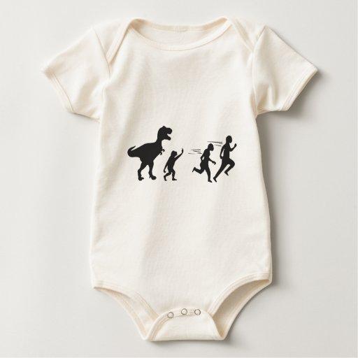 Evolución de T Rex Traje De Bebé