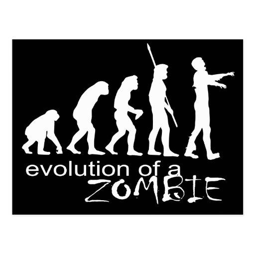 evolución de un zombi postal