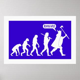 Evolución de Viking Póster