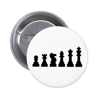 Evolución del ajedrez pin redondo 5 cm