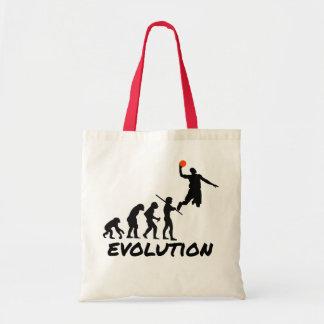 Evolución del baloncesto bolsas de mano