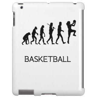 Evolución del baloncesto funda para iPad