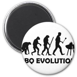 evolución del Bbq Imanes De Nevera