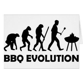 evolución del Bbq Felicitacion