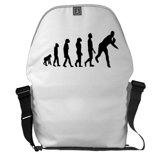 Evolución del béisbol bolsas messenger
