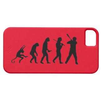 Evolución del béisbol - caso divertido del iPhone iPhone 5 Carcasa