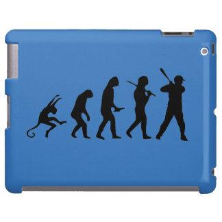 Evolución del béisbol - casos divertidos del iPad Funda Para iPad