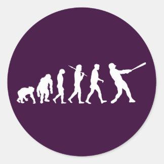 Evolución del béisbol de los regalos del béisbol etiqueta