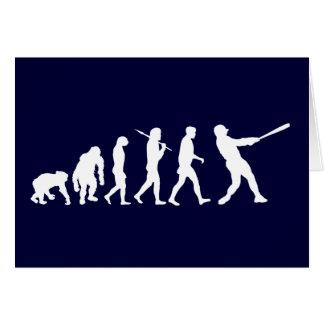 Evolución del béisbol de los regalos del béisbol felicitaciones