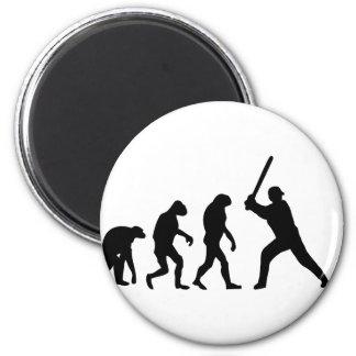evolución del béisbol imán redondo 5 cm