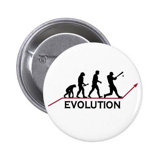 Evolución del béisbol pin
