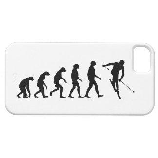 Evolución del caso del iPhone 5 del esquí Funda Para iPhone 5 Barely There