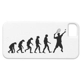 Evolución del caso del iPhone 5 del tenis Funda Para iPhone 5 Barely There