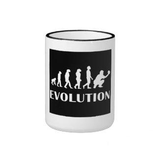 Evolución del colector del béisbol tazas de café