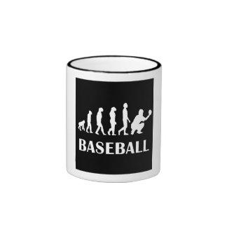 Evolución del colector del béisbol taza de café