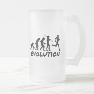 Evolución del corredor taza cristal mate