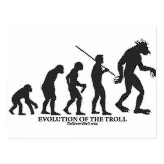 Evolución del duende tarjetas postales