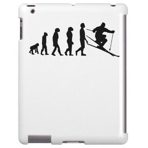 Evolución del esquí funda para iPad
