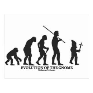 Evolución del gnomo postales