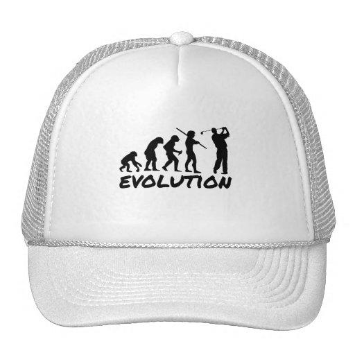 Evolución del golf gorros
