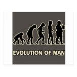 evolución del hombre postal