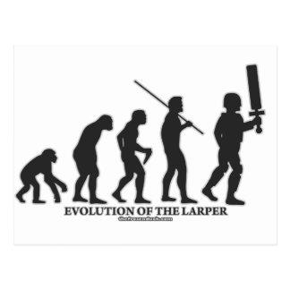 Evolución del LARPer Tarjetas Postales