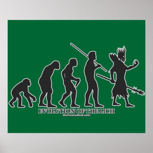 Evolución del Lich Póster