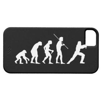 Evolución del Ninja - del hombre al ninja iPhone 5 Case-Mate Cárcasas