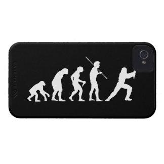 Evolución del Ninja - del hombre al ninja iPhone 4 Case-Mate Carcasa