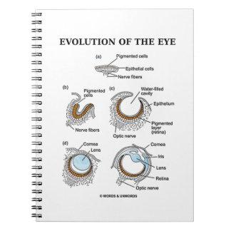 Evolución del ojo libreta espiral