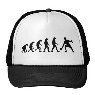 Evolución del ping-pong gorras de camionero