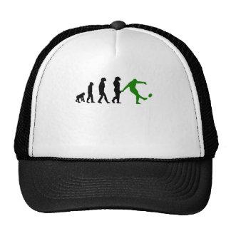 Evolución del retroceso del rugbi verde gorras