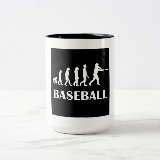 Evolución del talud del béisbol taza de café