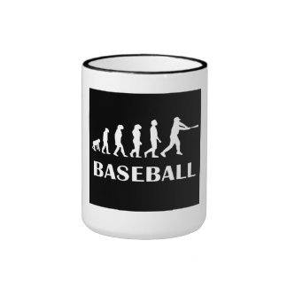 Evolución del talud del béisbol taza