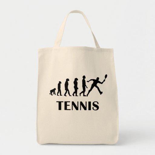 Evolución del tenis bolsas lienzo