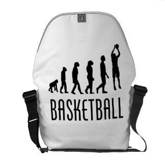 Evolución del tiro en suspensión del baloncesto bolsas de mensajeria
