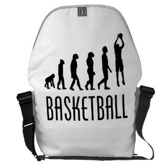 Evolución del tiro en suspensión del baloncesto bolsa de mensajeria