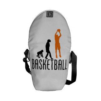 Evolución del tiro en suspensión del baloncesto n bolsas de mensajeria