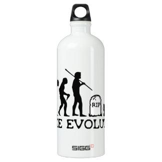 Evolución del zombi botella de agua